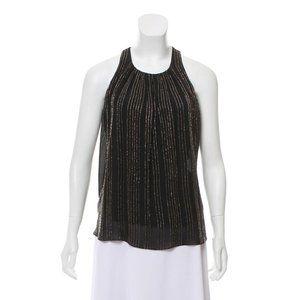 L'Agence Embellished Sleeveless Top